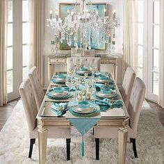 If you have a dining room, there's a good chance you don't use it very often. Most people would prefer to congregate around the kitchen table and the dining room is hardly ever used. Dining Room Table Decor, Dining Room Sets, Deco Table, Decoration Table, Dining Room Design, Living Room Decor, Kitchen Decorations, Dining Chair, Christmas Decorations