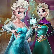 Elsa Secret Transform: Elsa quer transformar da Rainha de Arendelle para a Rainha do Gelo, mas para isso ela precisar de sua ajuda