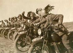 Moto militari: la Moto Guzzi 500 Alce del Regio Esercito