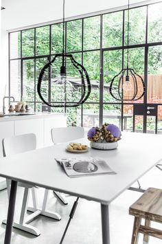 Hanglamp Lab - Zwart - XL - HK Living
