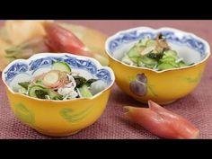 Cucumber Sunomono (Marinated Cucumber and Ginger) きゅうりもみ(酢の物) 作り方 レシピ - YouTube