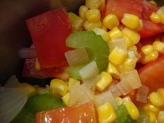 Casual Kitchen: Attention Vegetarians and Vegans! Fresh Corn and Tomato Soup