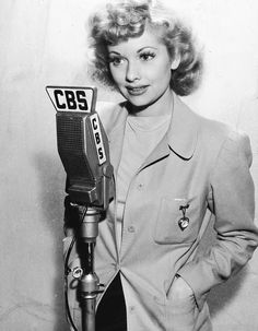 On the air with Lucy c.1940s