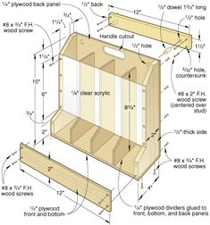 Woodworking Plans Modern DIY Can Dispenser.Woodworking Plans Modern DIY Can Dispenser Learn Woodworking, Woodworking Furniture, Woodworking Plans, Diy Furniture, Woodworking Projects, Sketchup Woodworking, Furniture Making, Woodworking Articles, Woodworking Quotes