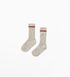ZARA - KIDS - Twist knit socks