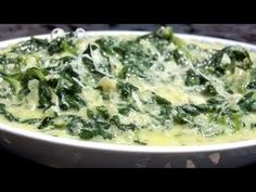 Creamed Spinach - YouTube Simply Recipes, Side Dish Recipes, Vegetable Recipes, Soup Recipes, Vegetarian Recipes, Cooking Recipes, Against All Grain, Paleo, Keto