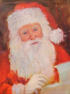 Spread some Christmas cheer in your home this season by selecting one of our original Santa Claus paintings. We have several styles and sizes to choose from. Feel like you might want something a little more personalized? Not to worry! Just come on in and talk with our resident artist. Color changes, touch up's, additions and removals are available!