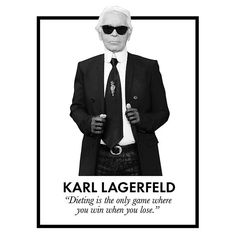 The best fashion quotes of all time: Karl Lagerfeld