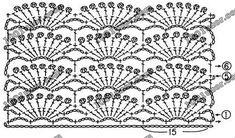"""Nova de Alla Koval: túnica para as meninas gancho """"A flor de cerejeira (Sakura)"""". Padrões de refeições. Discussão sobre LiveInternet - Russo serviço de diários on-line"""