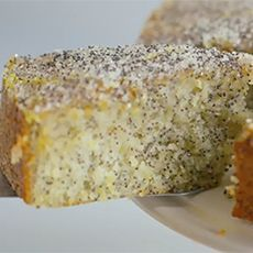 Double Lemon Drizzle Cake with Poppy Seeds - Delia Smith, so will be reliable!.