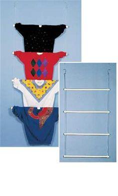 White PVC Tubular Ladder Mannequins