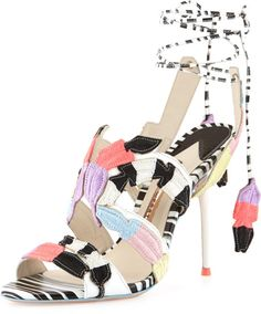 Love this: Carrie Featherembroidered Sandal @Lyst