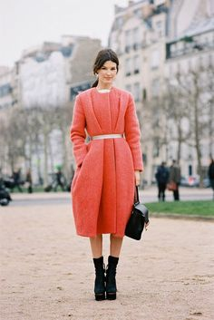 Hanneli Mustaparta: Paris Fashion Week (photo by Vanessa Jackman)