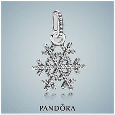 Winter Kiss Pendant     This traditional snowflake will certainly stand out as it dangles from a necklace or bracelet. Add dazzling sparkle and winter cheer to your look with this Winter Kiss pendant made with 61 clear cubic zirconias.