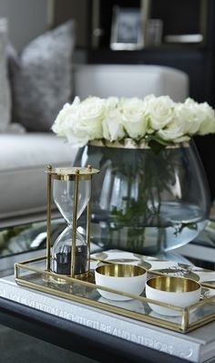 Brass and crystal details #BHfamroom | Boscolo | High End Luxury Interior Designers in London