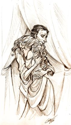 """""""Hold Me Unto You by *Muirin007 on deviantART"""" I love this, such a tender moment"""