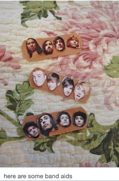 """Lol I literally saw this and without even looking at the text below was like. """"Lol. Band aids..."""""""