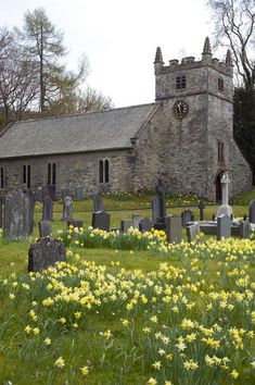 Rural church in UK