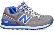 Grijze New Balance schoenen 574 sneakers