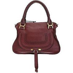 2a36c6fa4f Chloe Marcie Medium Burgundy Bag --  1990