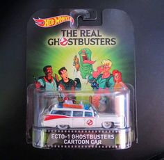 Hot Wheels Real Ghostbusters