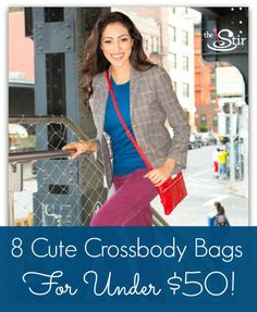 Adorable crossbody bags that won't break the bank!