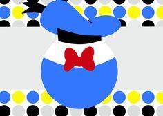 Invitaciones de cumpleaños del Pato Donald imprimibles