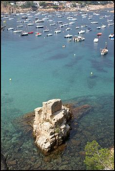 The Rock, Aiguablava  Catalonia    via Flickr.