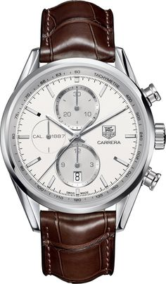 @tagheuer Watch Carrera 1887 #add-content #bezel-fixed #bracelet-strap-alligator #brand-tag-heuer #case-material-steel #case-width-41mm #chronograph-yes #date-yes #delivery-timescale-1-2-weeks #dial-colour-silver #gender-mens #luxury #movement-automatic #official-stockist-for-tag-heuer-watches #packaging-tag-heuer-watch-packaging #style-sports #subcat-carrera #supplier-model-no-car2111-fc6291 #warranty-tag-heuer-official-2-year-guarantee #water-resistant-100m