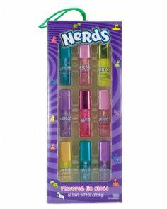 Nerds 9 Mini Flavored Lip Gloss