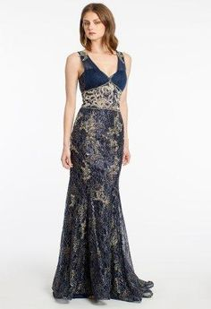 Metallic Lace Long D