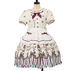 http://www.wunderwelt.jp/products/detail6905.html ☆ ·.. · ° ☆ ·.. · ° ☆ ·.. · ° ☆ ·.. · ° ☆ ·.. · ° ☆ Alice Wonder Marin Treasure dress ALICE and the PIRATES ☆ ·.. · ° ☆ How to order ↓ ☆ ·.. · ° ☆ http://www.wunderwelt.jp/user_data/shoppingguide-eng ☆ ·.. · ☆ Japanese Vintage Lolita clothing shop Wunderwelt ☆ ·.. · ☆ #egl
