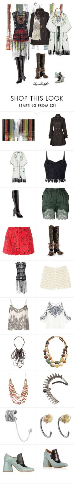 """Loafers and Lace"" by ravenleeart ❤ liked on Polyvore featuring Maxwell Dickson, Relaxfeel, Matthew Williamson, Lipsy, Gucci, Faith Connexion, MSGM, House of Holland, Glamorous and Paul & Joe Sister"