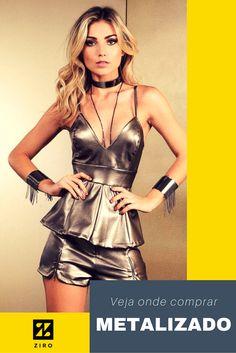 Inspiração nos tons metais conquista a moda e metalizado é o hit do verão O HIT DO VERÃO