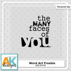 Scrapbooking TammyTags -- TT - Designer - AK Designs,  TT - Item - Word Art