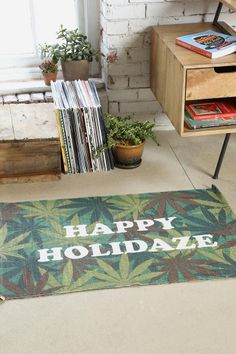 Happy Holidaze Rug