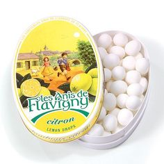 Lemon - Abbaye de Flavigny Tin Anise drops all natural [1.75 oz], One * Read more reviews of the product by visiting the link on the image.