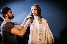 Backstage Pass: Paris Fashion Week Spring 2015 - Backstage at Dior Spring 2015