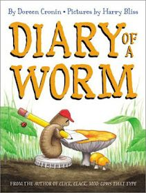 Worm activity based on the book, writing, sequencing, nice! (worm day)