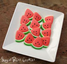 SugarBliss Cookies: Food Iced Cookies, Cute Cookies, Summer Cookies, Cookie Crumbs, Flower Cookies, Biscotti, Cookie Recipes, Cookie Ideas, Cookie Decorating