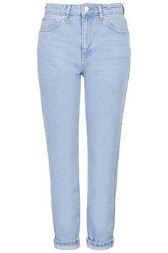 MOTO Bleach Mom Jeans