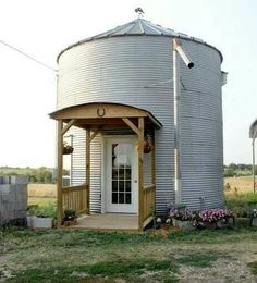 Grain silo to guest house