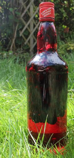 Blackberry vodka recipe: perfect for all those blackberries out at the moment...