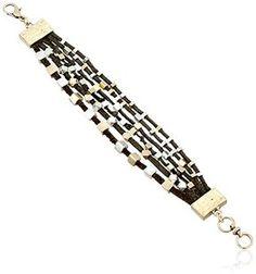 love this  -- Lucky Brand Dark Brown Bracelet  -- http://www.hagglekat.com/lucky-brand-dark-brown-bracelet/