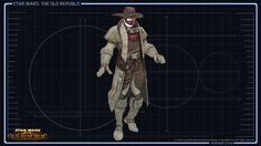 SWTOR Concept Art - Smuggler Outfit // To protect against the harsh elements of worlds in the Outer Rim, long leather jacket, goggles, and a face mask are essential. Star Wars Guns, Star Wars Rpg, Star Wars Characters Pictures, Dnd Characters, Armor Concept, Concept Art, Jedi Armor, Star Wars Timeline, Star Wars The Old