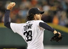 Tigers pitcher Darin Downs found himself in the spotlight after starter Max Scherzer left after the second inning due to shoulder fatigue. (Robin Buckson/Detroit News)    From The Detroit News: http://www.detroitnews.com/article/20120919/SPORTS0104/209190368#ixzz26ycdCvUH