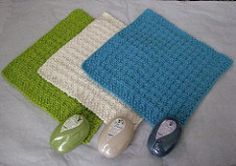 This DK weight facecloth knits up quickly and makes a wonderful gift. Or make some to pamper yourself - you deserve it!