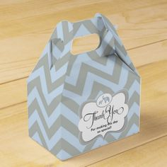 Elephant Blue Chevron Child Present Thank You Favor Favor Field.  Discover even more by going to the picture