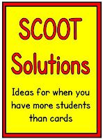 SCOOT instructions, ideas, and a FREEBIE!