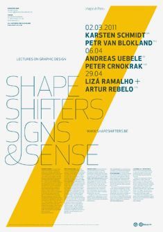Shapeshifters Lecture Poster